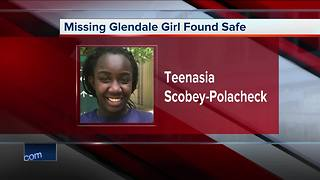 Teen safe and with her family after she went missing on July 1