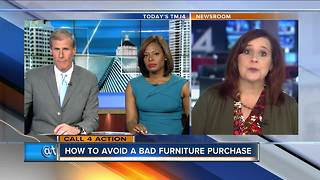 Call for Action: How to avoid a bad furniture purchase - Video
