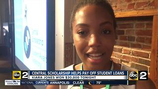 Calvert County woman wins $30,000 to pay off student loans - Video