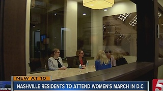 Nashville Women Head To Washington D.C. For March - Video