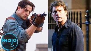 Top 10 Movie Franchises That Tried and Failed to Continue with a New Lead - Video