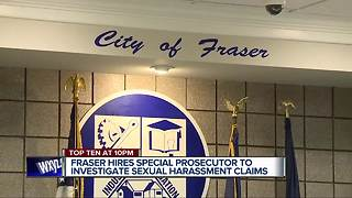 Fraser hires special prosecutor to investigate sexual harassment claims