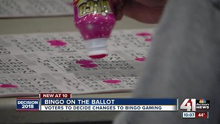 Voters to decide changes to bingo gambling