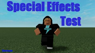 Special Effects Test