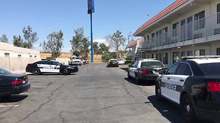 Bakersfield Police respond to possible drowning at Motel 6 - Video