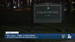 Residents concerned about police response time to Federal Hill Park shooting
