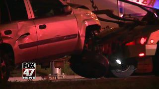 Police investigating accident in Lansing
