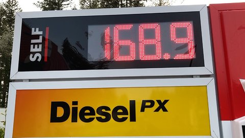 "Record Breaking Gas Prices Make You Say ""WOW"""
