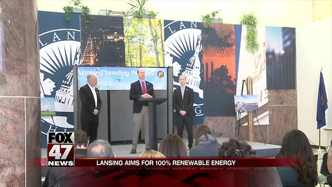 City of Lansing Leads the State of Michigan in Renewable Energy Efforts