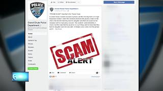 Grand Chute Police warn of scam involving scary phone call - Video