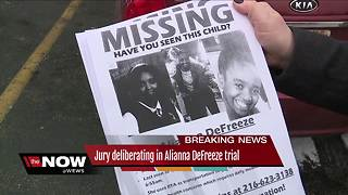 Jury deliberations begin in Christopher Whitaker case: Man accused of killing Alianna DeFreeze - Video