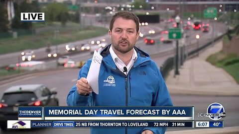 Memorial Day travel forecast by AAA
