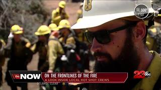 Kern County Hotshot crews prepare for wildfire season