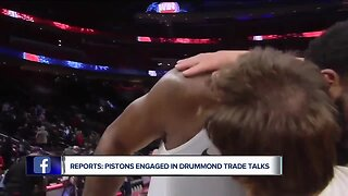 Pistons exploring Andre Drummond trade with multiple teams, according to reports