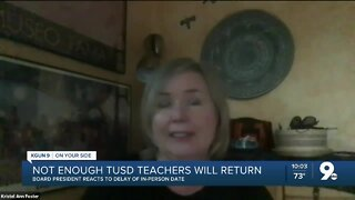 Not enough TUSD teachers will return