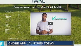 TAKL, the chore app, launches in Tampa on Tuesday - Video