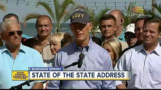 Governor Scott to deliver State of the State address on Tuesday - Video