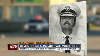 Friend remembers late Cincinnati police officer Paul Vogelpohl as 'indescribable'