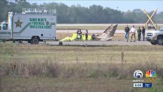 Plane headed to Key West for holiday crashes, killing 5 - Video