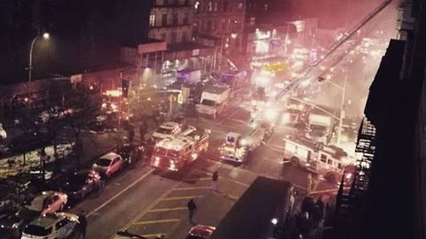 New York Firefighter Dies During Harlem Film Set Blaze