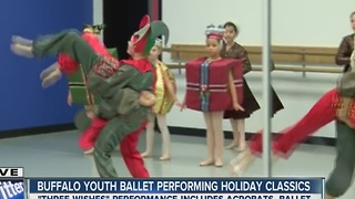Greater Buffalo Youth Ballet gives sneak peek of holiday performance - Video