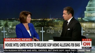 "Pelosi Not Happy With CNN Cuomo: ""You Don't Know What You're Talking About"" - Video"