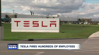 Tesla fires hundreds across the U.S. - Video