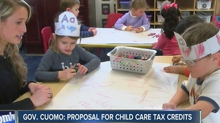 Gov. Cuomo: proposal for child care tax credits - Video