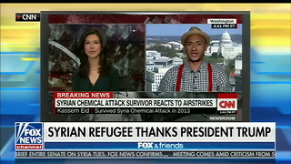 Syrian Refugee Who Survived 2013 Chemical Attack Decimates Obama in Bombshell Interview - Video