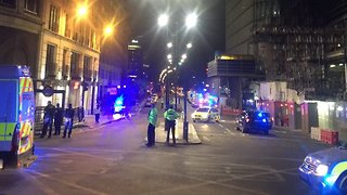 Police Clear Streets in Response to 'Major Incident' in Central London - Video