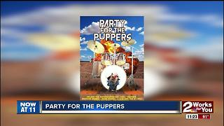 Tulsa SPCA sponsoring Party For The Puppers event - Video