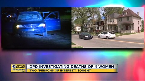 Detroit police investigating deaths of four women