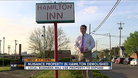 Hamilton Inn demolished for new growth