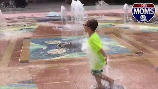 Splash Pad at Indian Riverside Park is a mom fav - Video