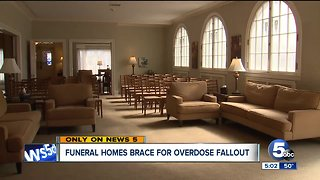 Opioid crisis creates new concerns for funeral homes