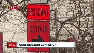 Construction on this Cleveland road causes confusion among drivers - Video