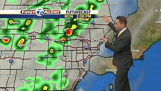 FORECAST: Monday Noon