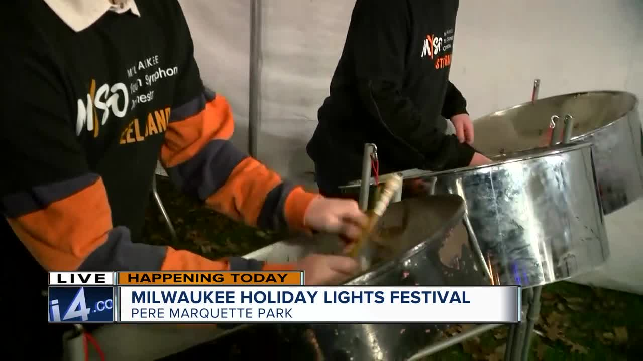 Thursday marks the 21st annual Holiday Lights Festival in downtown Milwaukee