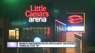 NCAA Tournament fans impressed with Detroit's progress, Little Caesars Arena - Video