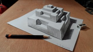 Drawing a 3D pyramid - Video