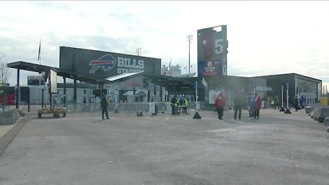 Bills fans enter the stadium for first time with new protocols