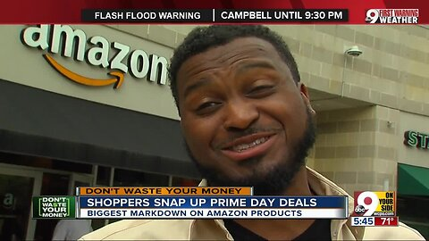 Shoppers snap up Prime Day deals