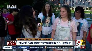 American Idol hopeful auditions for us - Video