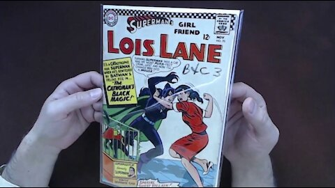 Comic Book Reading: Superman's Girlfriend Lois Lane #70, First Silver Age Catwoman, DC 1966 [ASMR]