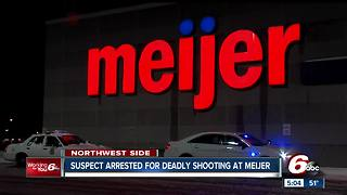 Suspect arrested in connection with fatal shooting in Meijer parking lot - Video