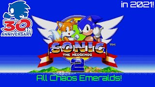 Sonic the Hedgehog 2 (1992) in 2021! Playthrough