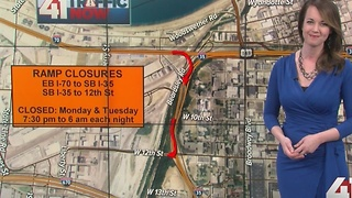 Two overnight ramp closures on downtown loop - Video