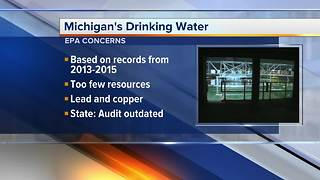 EPA: Michigan should boost water safety in Flint, statewide - Video