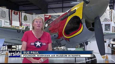 National Aviation Day draws appreciation from Warhawk Air Museum founder