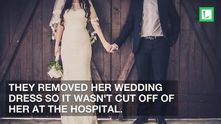 Bride Starts Feeling Itchy During Wedding & Can't Breathe, Rushed to ER Moments Later - Video